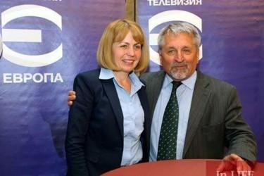 Иван Хиновски и Йорданка Фандъкова (снимка)