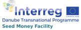 """Международна програма """"Дунав"""" (лого)"""
